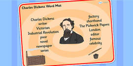 Charles Dickens Word Mat