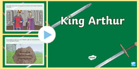 King Arthur Story PowerPoint