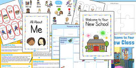 EAL Transition Pack to a New School