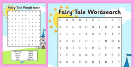 Fairy Tale Word Search