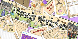 Wizard and Witches Workshop Role Play Pack