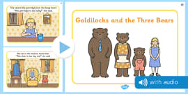 Goldilocks and the Three Bears Audio Narrated Story