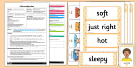 Goldilocks and the Three Bears Mind Map Starter EYFS Adult Input Plan and Resource Pack