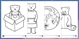 Colouring Sheets to Support Teaching on Whatever Next!