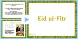 EYFS Eid PowerPoint