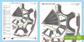 Eiffel Tower Paper Craft