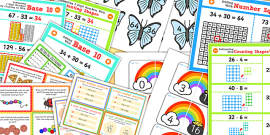 Addition and Subtraction Display Pack KS1 Year 2