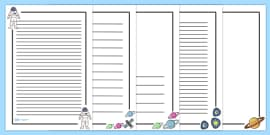 Space Page Borders