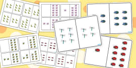 Minibeast Themed Counting Number Bonds to 10 Pack