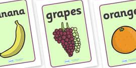 Fruit Display Posters