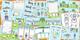 The Boy Who Cried Wolf Resource Pack