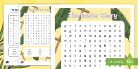 Easter Story Word Search