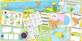 Story Sack to Support Teaching on The Crunching Munching Caterpillar