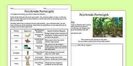 Fairtrade Activity Where Things Grow