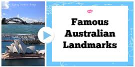 Australia - Famous Australian Landmarks Photo PowerPoint