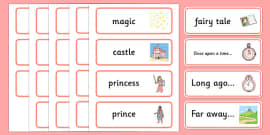 Fairy Tale Word Cards