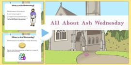 EYFS All About Ash Wednesday PowerPoint