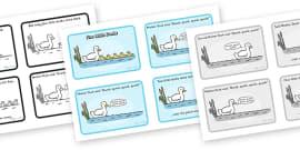 Five Little Ducks Sequencing (4 per A4)