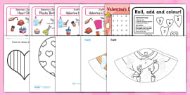 Valentine's Day Craft and Activity Resource Pack