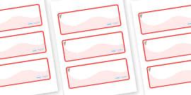 Koala Themed Editable Drawer-Peg-Name Labels (Colourful)