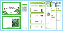 EYFS Jack and the Beanstalk Discovery Sack