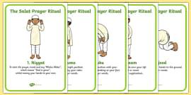The Salat Prayer Ritual Posters