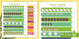 My Counting Activity Sheet (Easter)