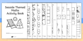 Seaside Themed KS1 Maths Activity Book