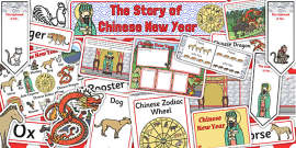 Chinese New Year Story Sack