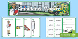 Australia - Ambulance Worker Role Play Pack