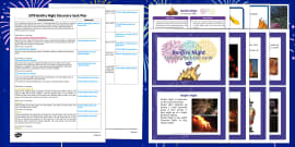 EYFS Bonfire Night Discovery Sack Plan and Resource Pack