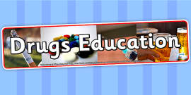 Drugs Education IPC Photo Display Banner