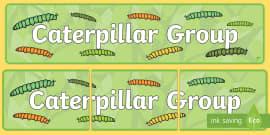 Caterpillar Group Display Banner