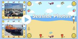 Seaside Display Photo PowerPoint