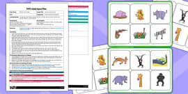 Jungle Themed Pass the Animal Sound EYFS Adult Input Plan to Support Teaching on Rumble in the Jungle