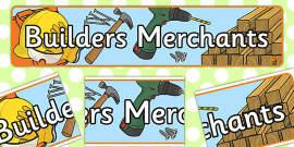 Builders Merchants Role Play Banner