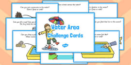 Water Area Challenge Cards