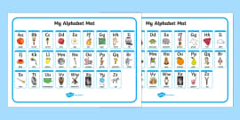 A-Z Alphabet Mat (Upper & Lowercase)