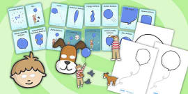 Story Sack Resource Pack to Support Teaching on The Blue Balloon