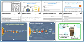 KS2 Space Lesson Plan Ideas and Resources Pack
