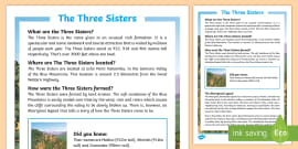 The Three Sisters Fact File