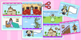 Fairytale Castle Role Play Challenge Cards