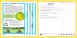 Fairtrade Differentiated Reading Comprehension Activity