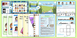 Emotions KS1 Lesson Plan Ideas and Resource Pack