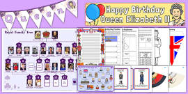 The Queen's 90th Birthday Resource Pack