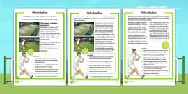 KS1 Wimbledon Differentiated Fact File