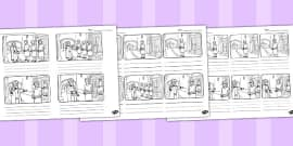 The Talents Storyboard Template