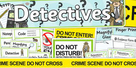 Detective Role Play Pack
