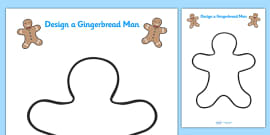Design Your Own Gingerbread Man