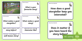 KS1 National Storytelling Week Question Cards